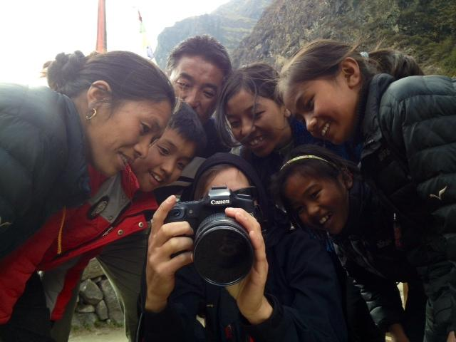 Familie in Nepal_fotoshooting
